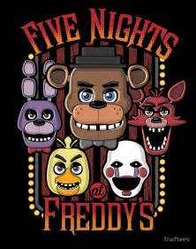 quot five nights at freddy s pizzeria multi character quot posters