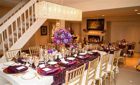 Purple & Gold 50th Birthday Party   Pretty My Party