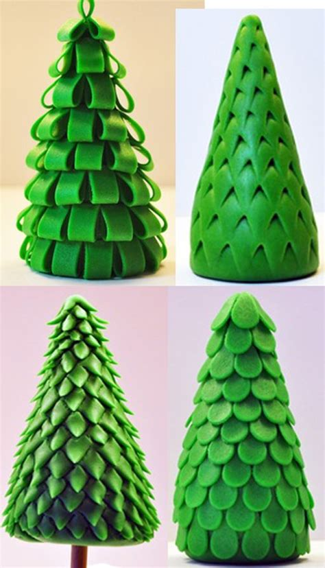 easy classy christmas tree from fondant 17 best images about fondant figures on cakes fondant animals and cakes