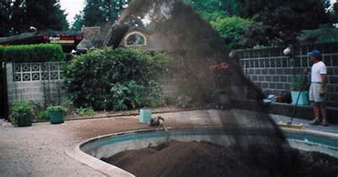 removing a pool from backyard ways to fill in pool swimming pool fill the owner