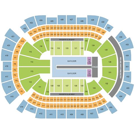toyota center floor plan kanye west toyota center tx houston tickets tue 20 sep 2016 viagogo
