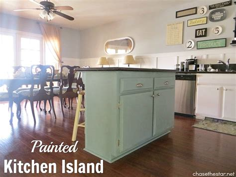 painting kitchen island updated stools with chalk paint 174