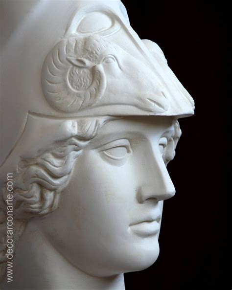 Home Decoration Paintings by Goddess Athena Plaster Figure 53x18x33cm Neoclassical