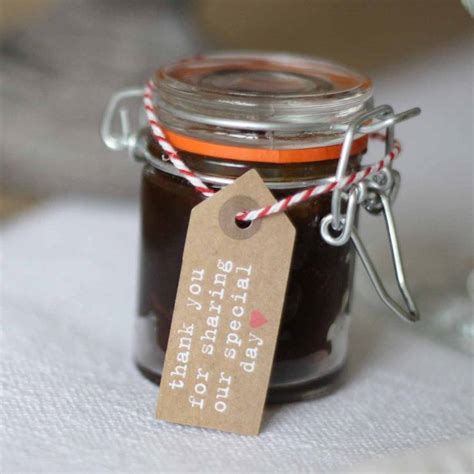 wedding favors mini jars mini glass jar for jam chutney wedding favours by the