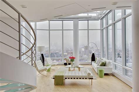 Bad Gardinen Ideen 361 by Chelsea Duplex Penthouse Minimalistisch Wohnbereich