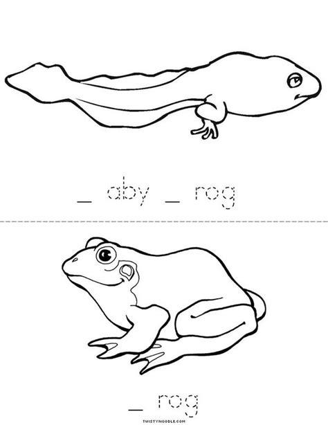 frog cycle template frog cycle book twisty noodle