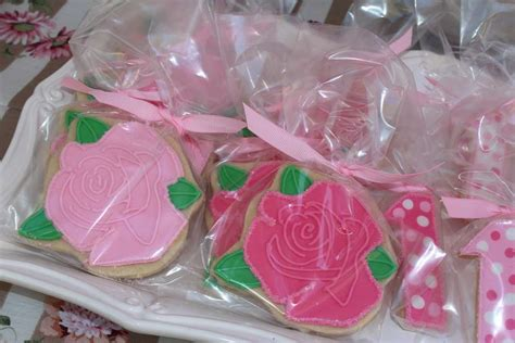 rose themed party rose theme 1st birthday birthday party ideas photo 3 of