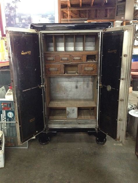 mosler antique safe vault circa    good