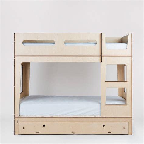 bunk beds minimalist modern design  plyroom