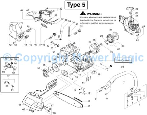 mcculloch parts diagram mcculloch mac cat 335 9528018 22 spares