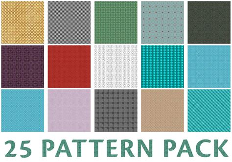 photoshop pattern overlay pack 25 pixel pattern pack