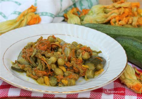 cosa cucinare con le zucchine fiori di zucca in padella con le zucchine inventaricette