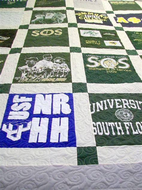 Handmade T Shirt Quilts - tshirt quilts custom quilt handmade quilt t shirt