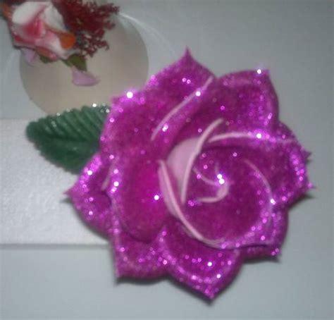 imagenes de flores fomix flores hechas en foami imagui