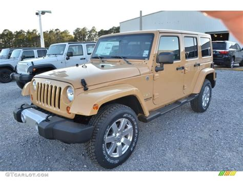 2013 Dune Jeep Wrangler Unlimited Sahara 4x4 78461507