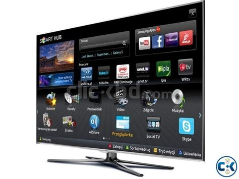 new 75 inch samsung ju6400 4k smart wifi led tv clickbd
