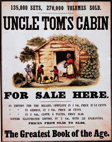 Toms Cabin Published by Antebellum Era To The Coming Of The Civil War 1840 1870