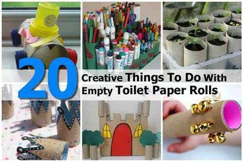 What The Can Do With Paper by 20 Creative Things To Do With Empty Toilet Paper Rolls