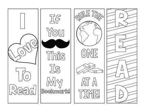 free printable bookmarks you can color 4 mandala colouring bookmarks set 4 instant download