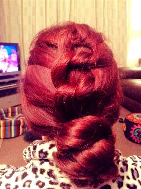 hypnotic roll hairstyle hair colors ideas