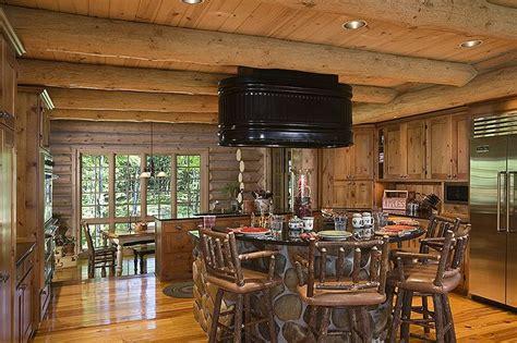 Blueprints For Cabins cool original range hood log home kitchens pinterest