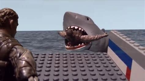 youtube jaws boat scene quot quint gets devoured quot jaws scene reenactment youtube