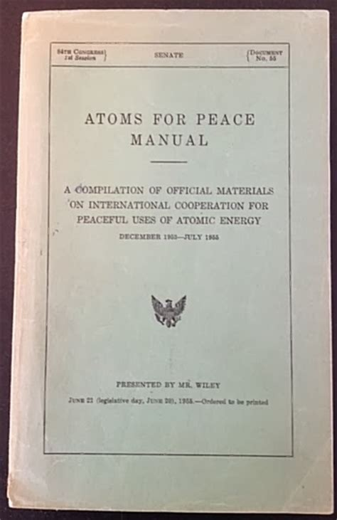 Atom For Peace Essay by Atomic Power Review Anniversary Of Eisenhower S Quot Atomic Power For Peace Quot Speech