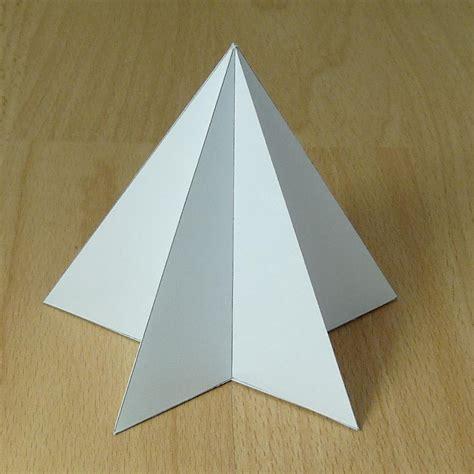 A Paper Pyramid - paper pyramids