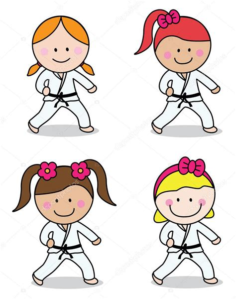 karate clipart karate stock vector 169 redrockerz99 82302250