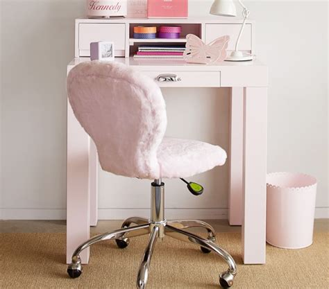 parsons mini desk parsons mini desk pale pink pottery barn