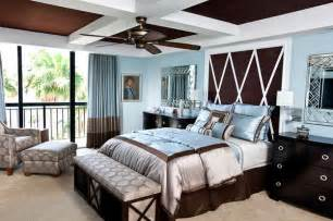 brown and blue bedrooms brown and blue interior color schemes for an earthy and