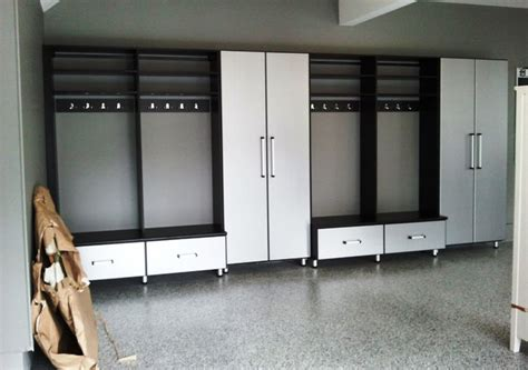 Lockers For Garage Storage garage with lockers modern garage and shed baltimore