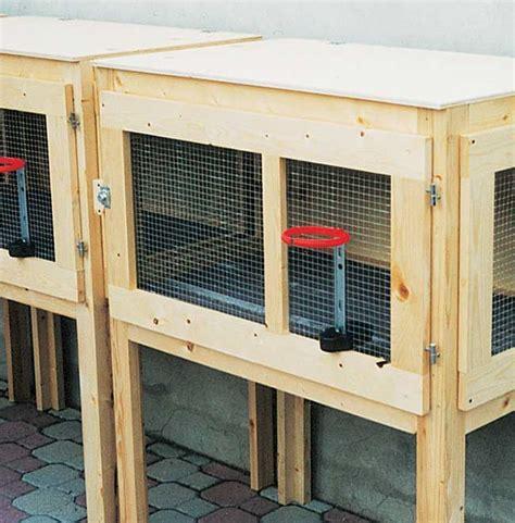 gabbie allevamento conigli gabbia per conigli fai da te progetto completo e dettagliato