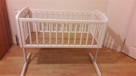 swinging crib sale mothercare swinging crib with crib bale set for sale in