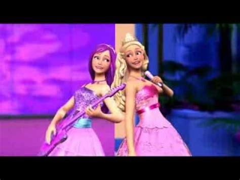 film barbie und der popstar barbie die prinzessin und der popstar trailer youtube