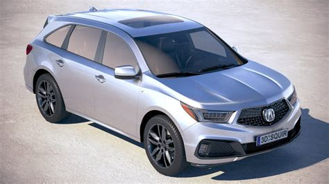 2019 Acura Suv by Acura Mdx A Spec 2019
