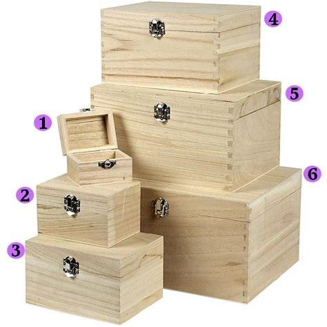 Treasure Chest Boxes To Decorate wooden treasure chests storage pirate boys decorate plain trinket sizes box set ebay