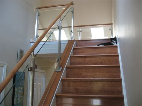 banister kit the many benefits of glass railing kit railing stairs