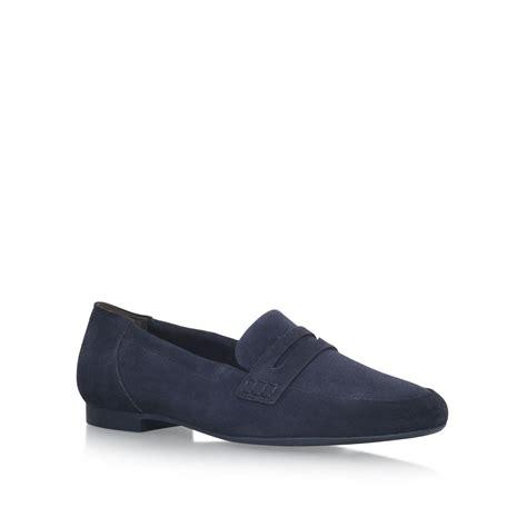 Sandal Wanita Megan Slip On Shoes Navy Blue Biru Isa paul green judy slip on loafers in blue lyst