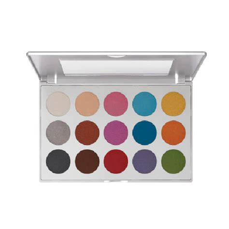 Eyeshadow Kit Viva kryolan viva brilliant eye shadow palette 15 shade alconecompany alcone company