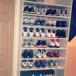 sneaker shelf storage organization diy helpful