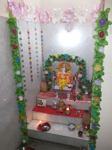 Decoration For Pooja Room by Ganesh Decoration And Room Decorations On