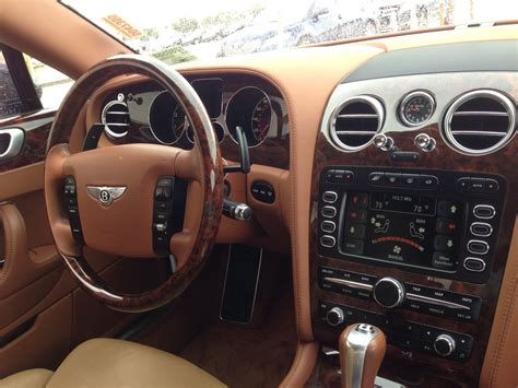 bentley continental flying spur interior pictures
