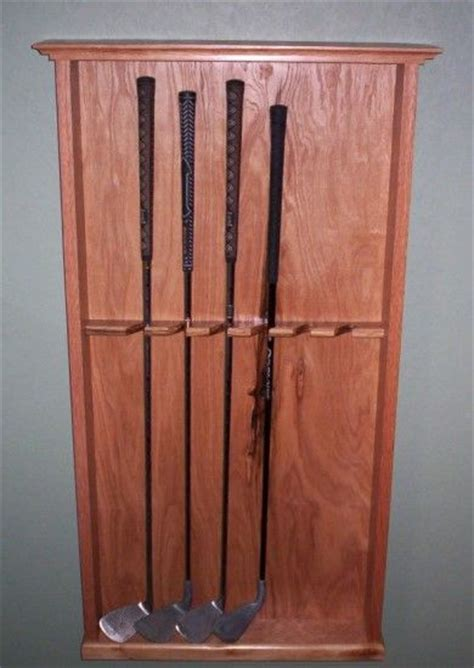 Golf Club Rack by Golf Club Display Rack Woodworking Home Guest Rooms