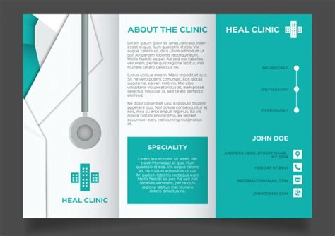 20 Free Health Medical Ads Templates Xdesigns Healthcare Brochure Templates Free