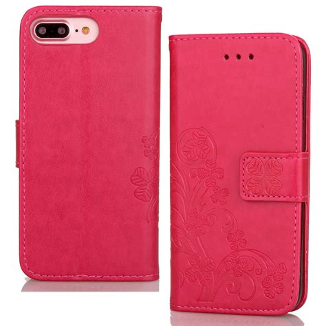 Leather Kulit Iphone 7 luxury slim leather wallet card cover wristlet for apple iphone 7 plus 5 5 quot ebay