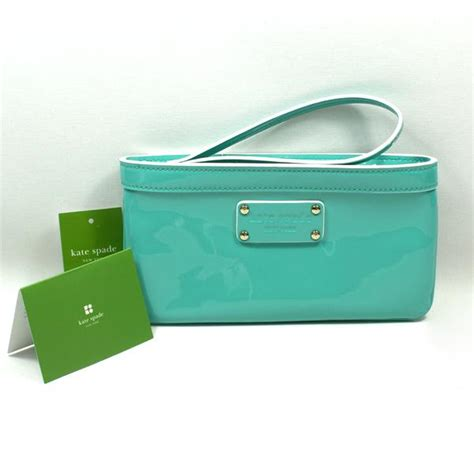 Kate Spade Chrissy Patent Clutch by Kate Spade Zippered Chrissy Pasadena Patent Leather