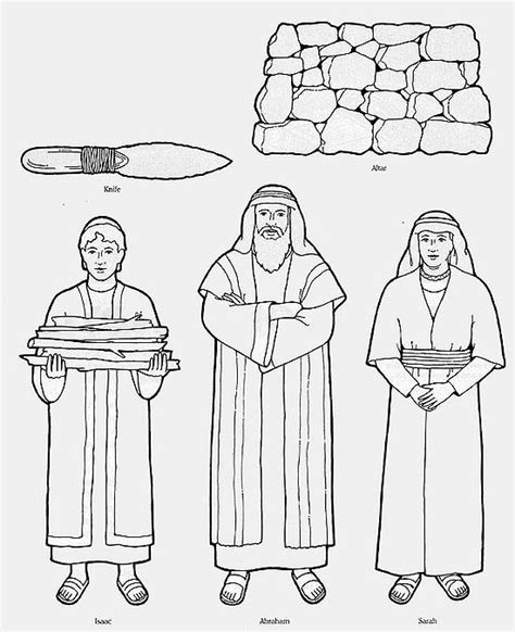 abraham covenant coloring page pinterest the world s catalog of ideas