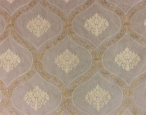 Medallion Sheer 118 Wide Embroidered Fabulous Luxury Euro