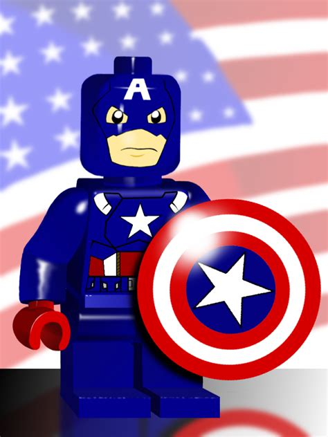 captain america lego wallpaper lego captain america by everetthitch on deviantart